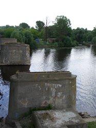 Pińsk. Most z lat trzydziestych, lipiec 2005.