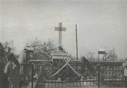 Pomnik w Woli Gołuchowskiej.